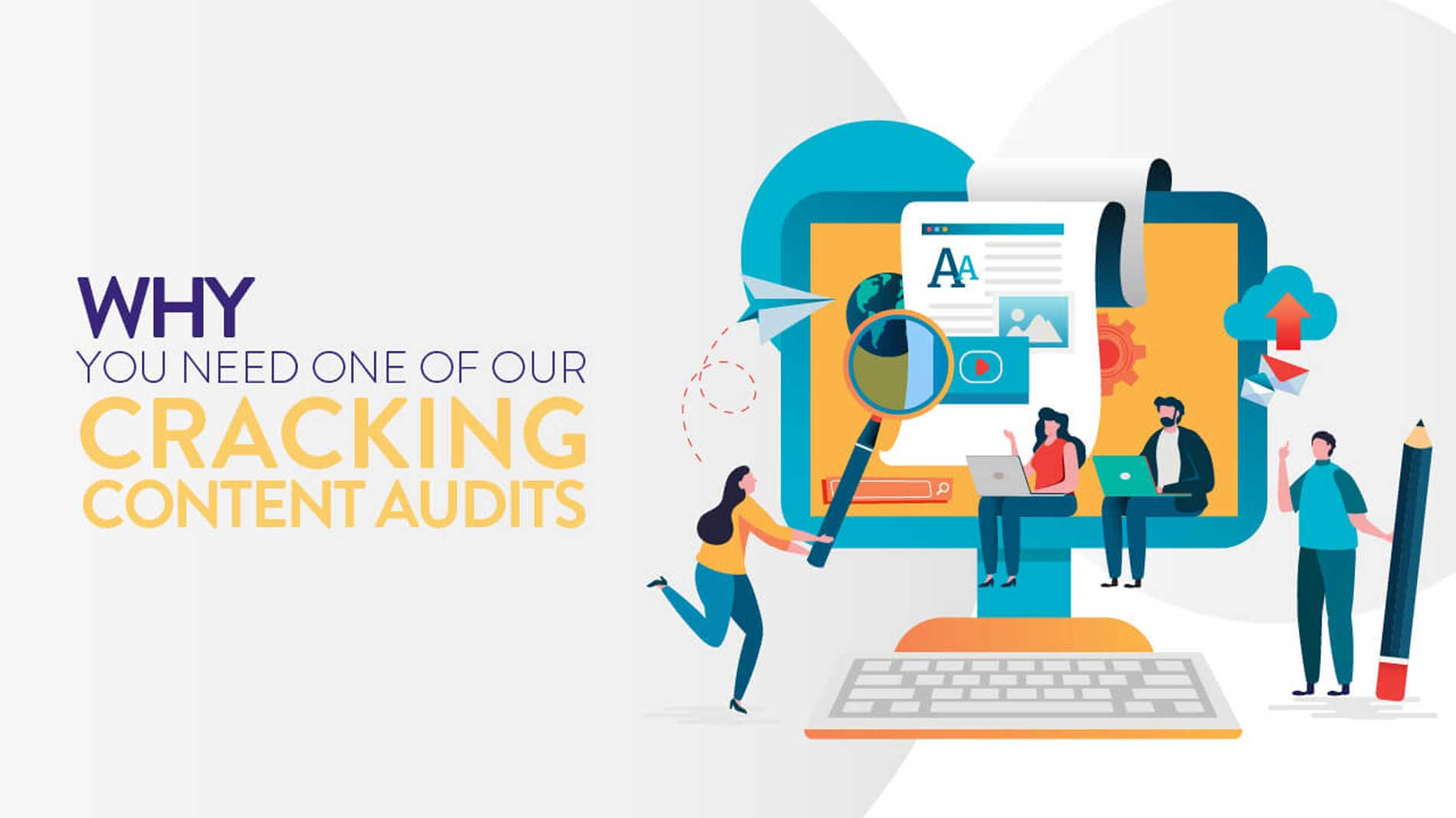 Why do you need a content audit banner.